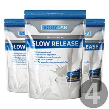 N/A Bodylab slow release (4x750 g) fra bodylab