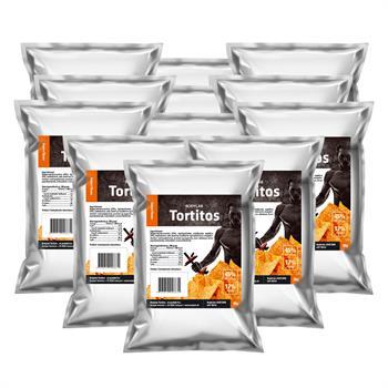 Bodylab protein tortitos (12x30 g) fra N/A på bodylab