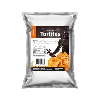 Bodylab protein tortitos (1x30 g) fra N/A fra bodylab