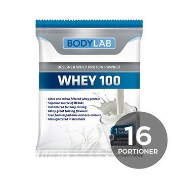 Prøvepakke med Whey 100 (16x30 g)