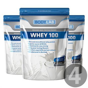 Bodylab Whey 100 (4x1 kg)