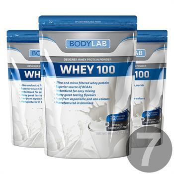 Bodylab Whey 100 (7x1 kg)