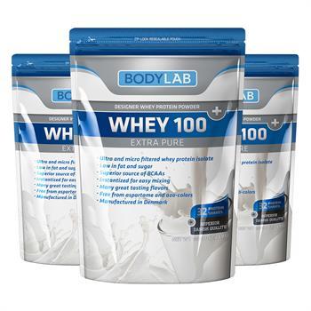 N/A – Bodylab whey 100 extra pure (3x1 kg) på bodylab