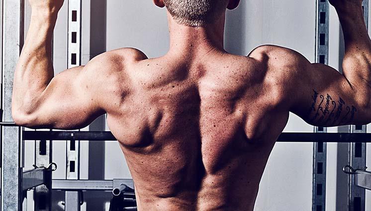 hvor mange reps for større muskler