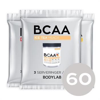 N/A Prøvepakke med bcaa instant (60x15 g) på bodylab
