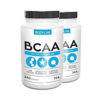 Bodylab BCAA kapsler (2x240 stk)