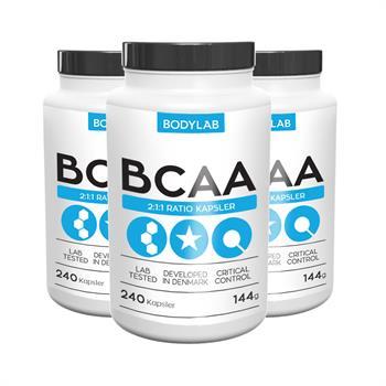 Bodylab BCAA kapsler (3x240 stk)