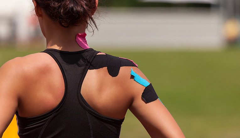 Kinesiotape shoulder
