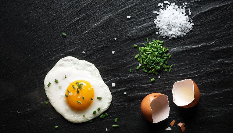 Æg og kolesterol.