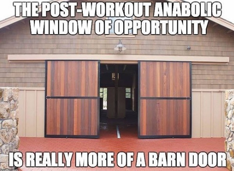 the anabolic barn door