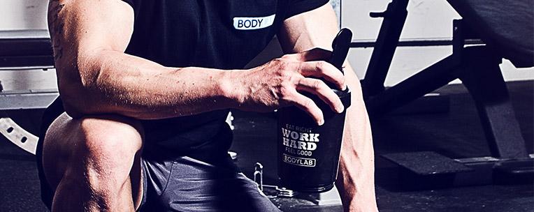 protein før eller efter træning