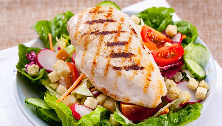 Proteinholdig mad.