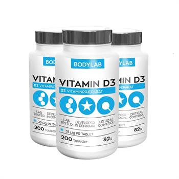 Bodylab D Vitamin (3x200 stk)