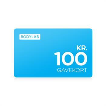N/A – Gavekort - 100 kr. fra bodylab