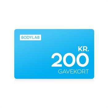 Gavekort - 200 kr. fra N/A fra bodylab
