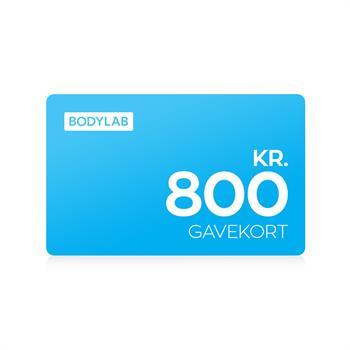 N/A – Gavekort - 800 kr. på bodylab