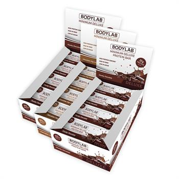 N/A – Bodylab minimum deluxe protein bar (36 x 65 g) fra bodylab