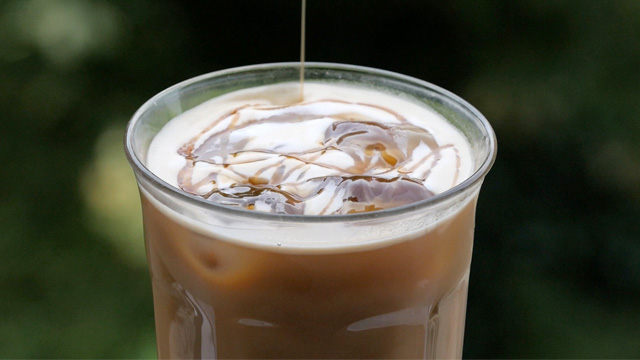 Iced Salty Caramel Protein Latte
