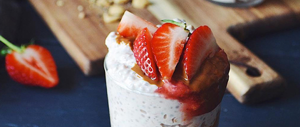 Overnight Oats med Peanut Butter