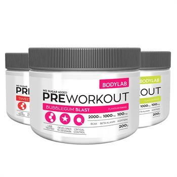 Bodylab Pre workout (3x200 g)