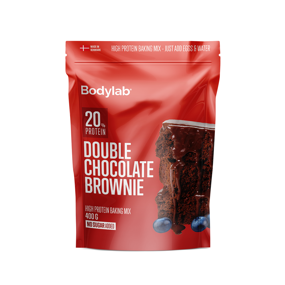 Image of   Bodylab Protein Baking Mix (400 g) - Double Chocolate Brownie