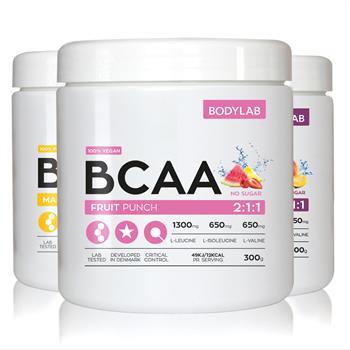 Bodylab bcaa instant (3x300 g) fra N/A fra bodylab