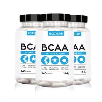 N/A – Bodylab bcaa kapsler (3x240 stk) fra bodylab