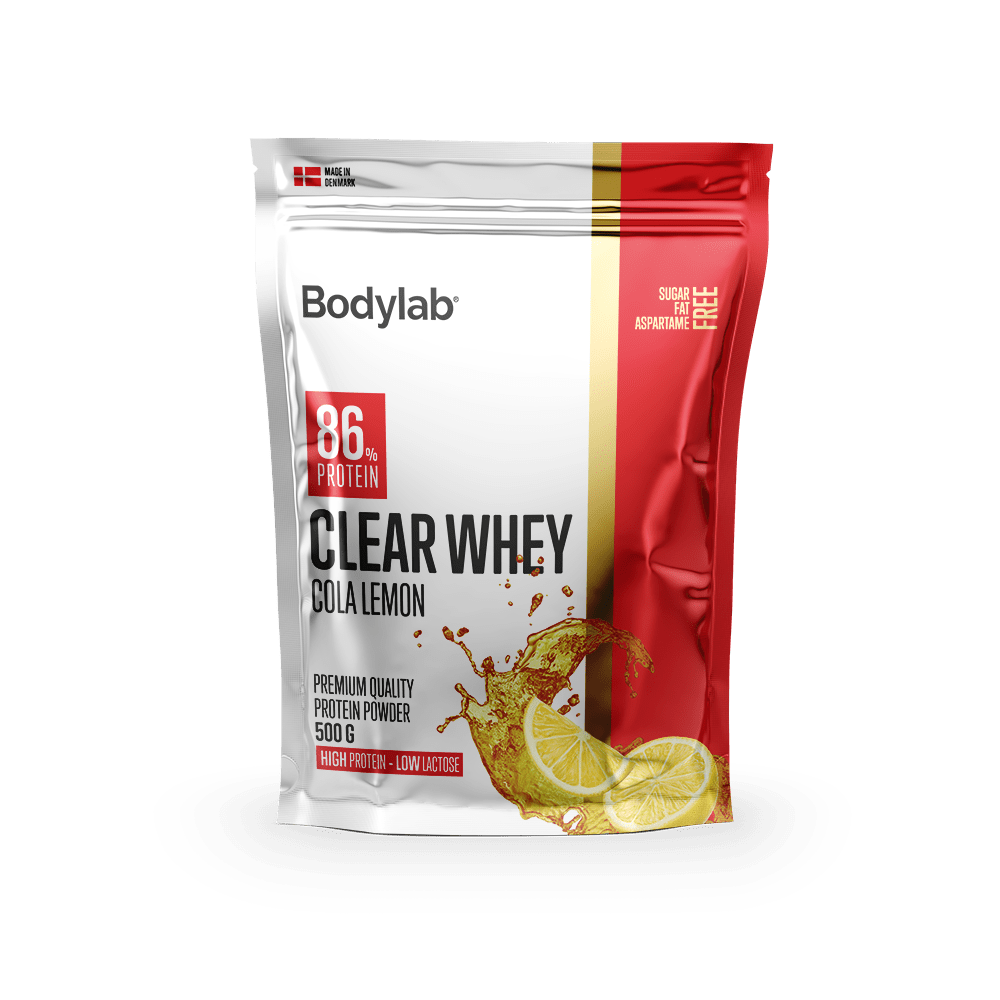 Image of   Bodylab Clear Whey (500 g) - Cola Lemon