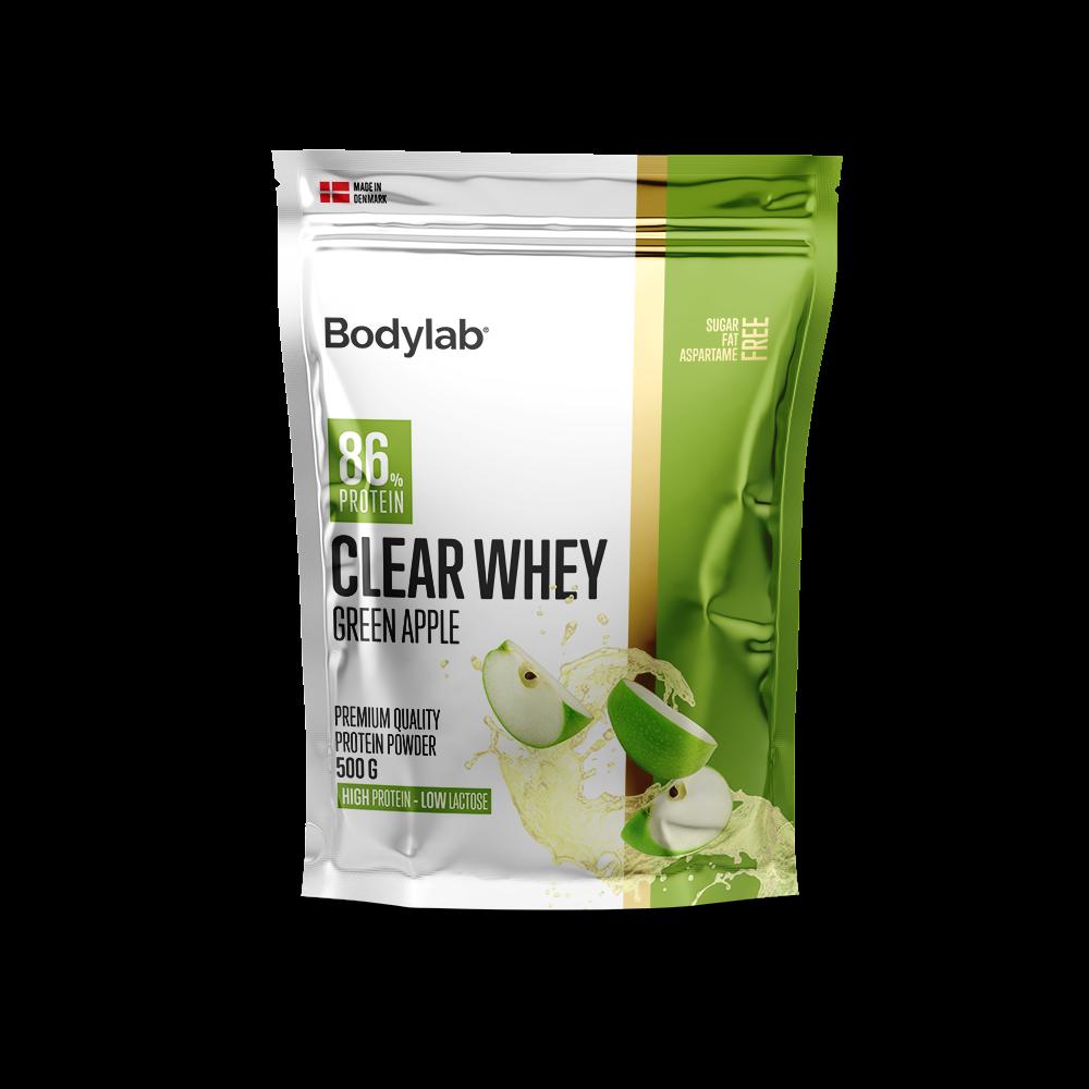Billede af Bodylab Clear Whey (500 g) - Green Apple