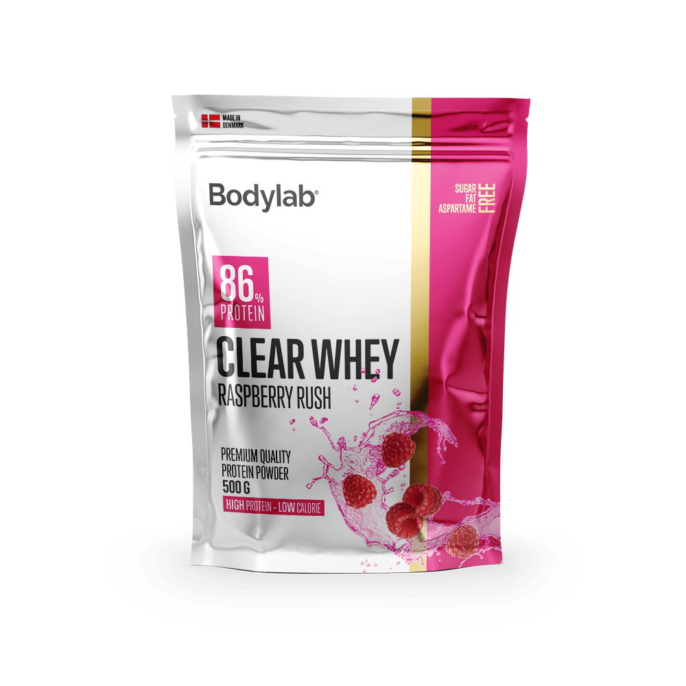 Image of   Bodylab Clear Whey (500 g) - Raspberry Rush