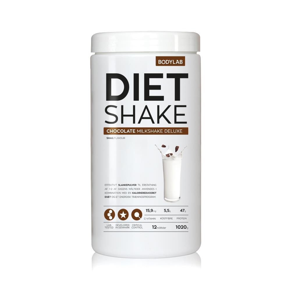 Image of Bodylab Diet Shake (1000 g) - Chocolate Milkshake