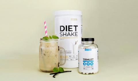 Diet Shake Vanilla & Trimlet