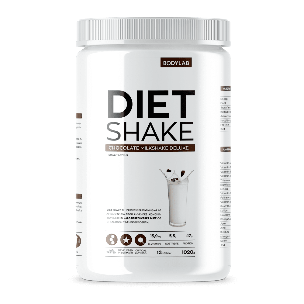 Image of   Bodylab Diet Shake (1000 g) - Chocolate Milkshake