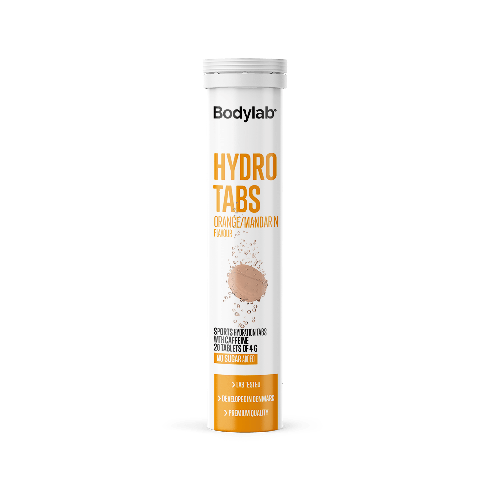 Image of Bodylab Hydro Tabs (1x20 stk) - Orange/Mandarin