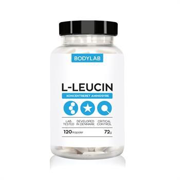 N/A – Bodylab l-leucin kapsler (120 stk) fra bodylab