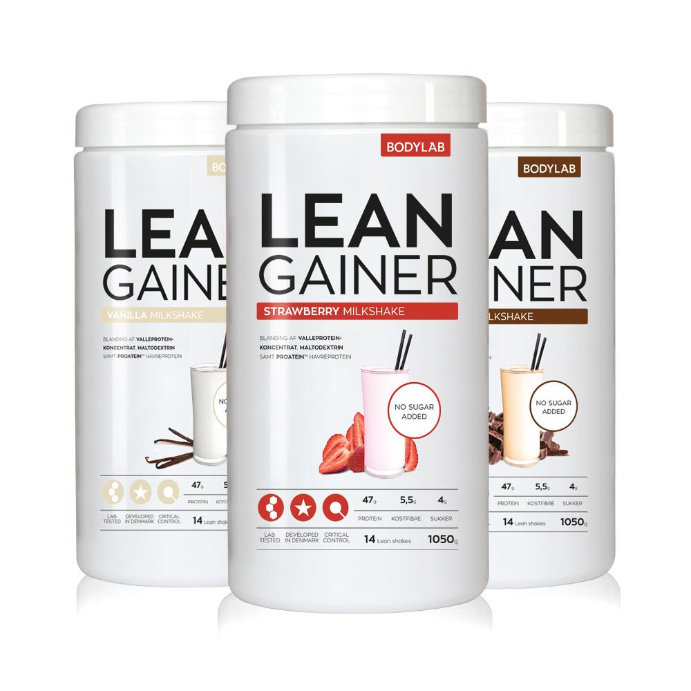 proteinpulver eller gainer