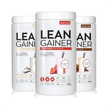 N/A Bodylab lean gainer (3x1050 g) fra bodylab