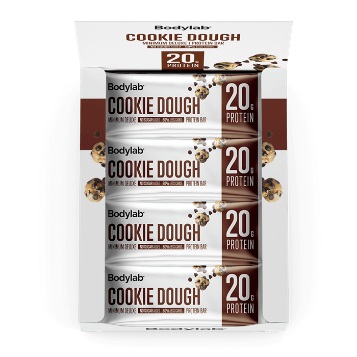 Bodylab Minimum Deluxe Protein Bar (12 x 65 g) - Cookie Dough