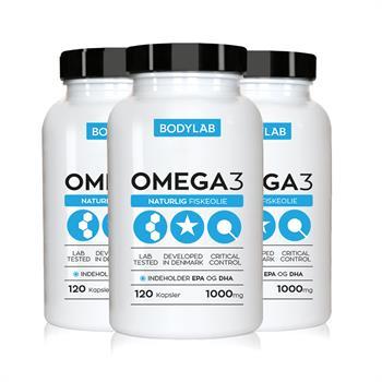 N/A – Bodylab omega 3 (6x120 stk) på bodylab
