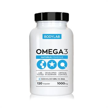 Image of   Bodylab Omega 3 (120 stk)