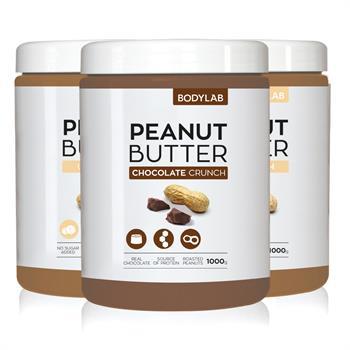 N/A Bodylab peanut butter (3x1 kg) fra bodylab