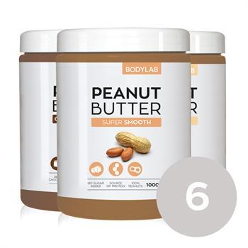 Bodylab peanut butter (6x1 kg) fra N/A fra bodylab