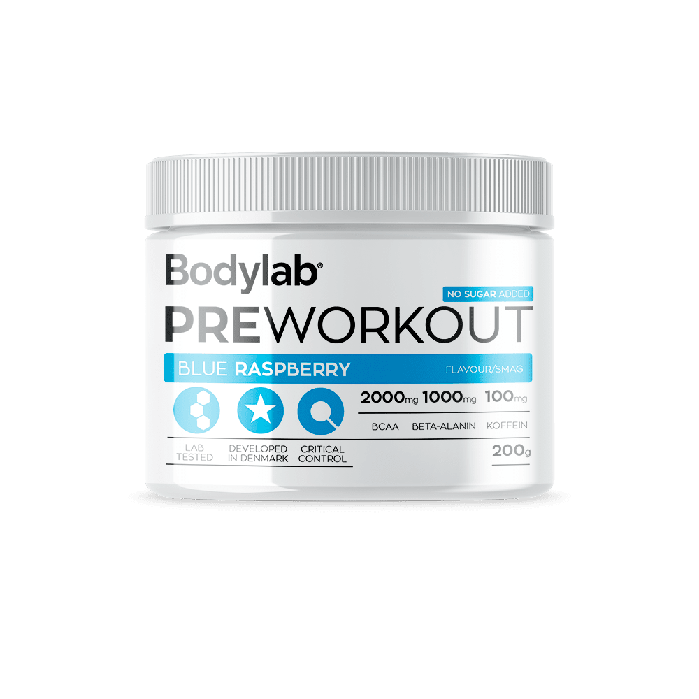 Image of Bodylab Pre Workout (200 g) - Blue Raspberry