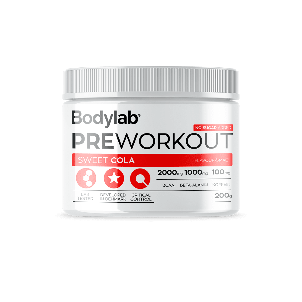 Image of Bodylab Pre Workout (200 g) - Bubblegum Blast