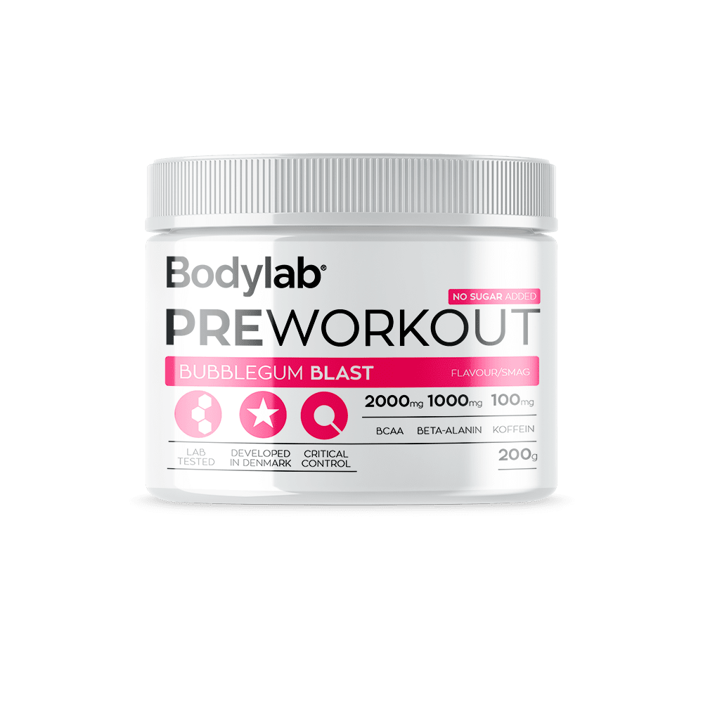 Image of Bodylab Pre Workout (200 g) - Sweet Cola