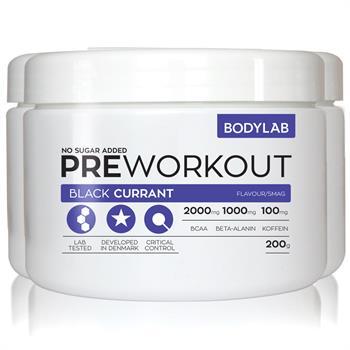 N/A – Bodylab pre workout (3x200 g) på bodylab
