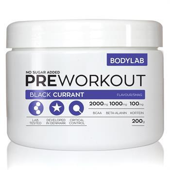Bodylab pre workout (200 g) fra N/A på bodylab