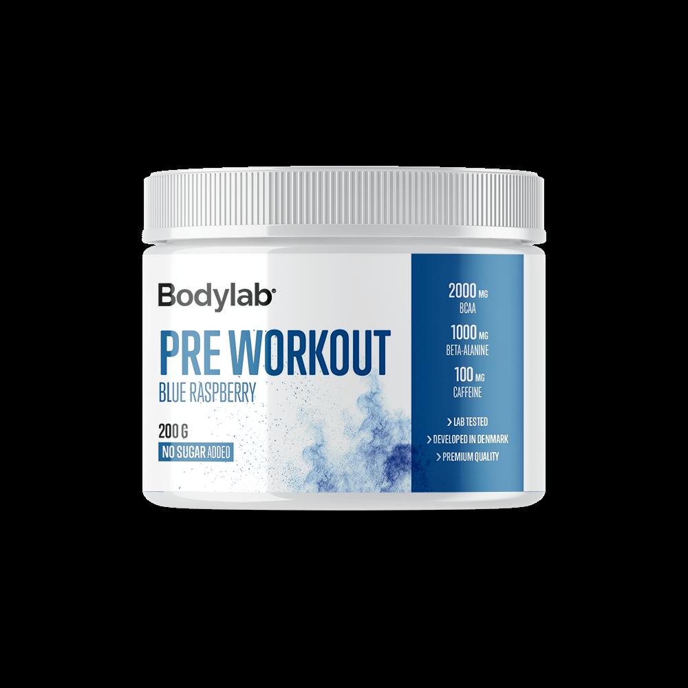 Billede af Bodylab Pre Workout (200 g) - Blue Raspberry