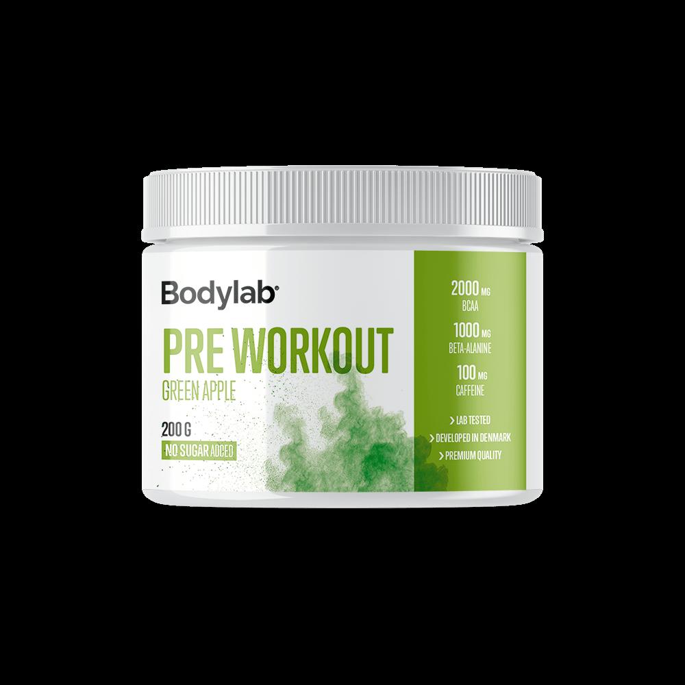 Billede af Bodylab Pre Workout (200 g) - Green Apple