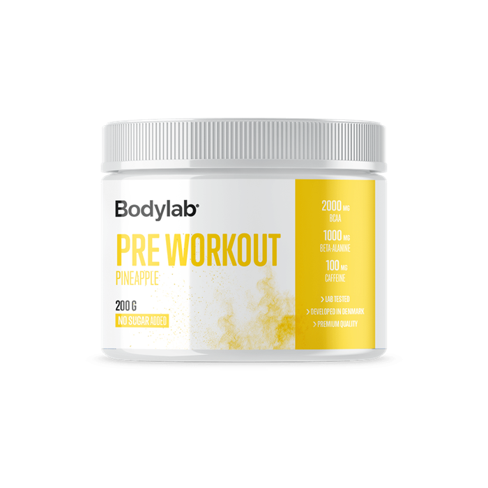Bodylab Pre Workout (200 g) - Pineapple